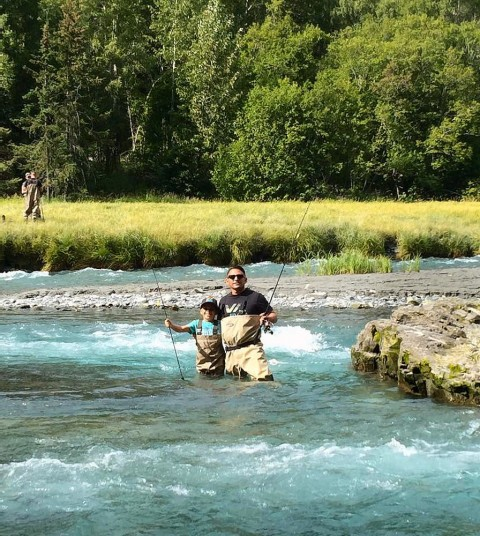 Rent a custom gear package for your Alaska adventure whether its fishing, hiking, kayaking, or the proper gear to enjoy a boat ride in Kenai Fjords National Park