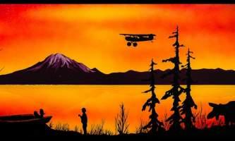 Living On The Kenai Peninsula Mural 6 alaska untitled