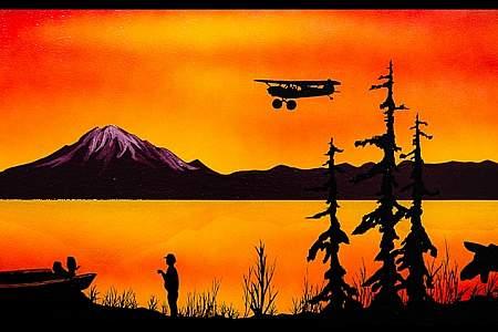 """""""Living on the Kenai Peninsula"""" by David Hartman"""