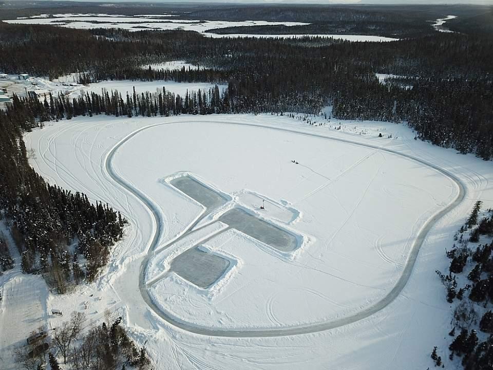 ARC Lake Ice Skating Rink