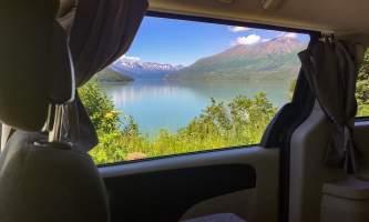 2021 Get Lost Vans Kenai Lakethru Window