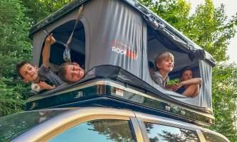 2021 Get Lost Vans Kidsin Tent