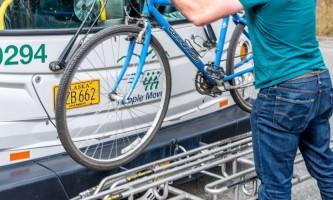 People moverbike rack with bike