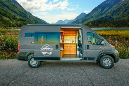 River Wild Alaska Campervan Rentals