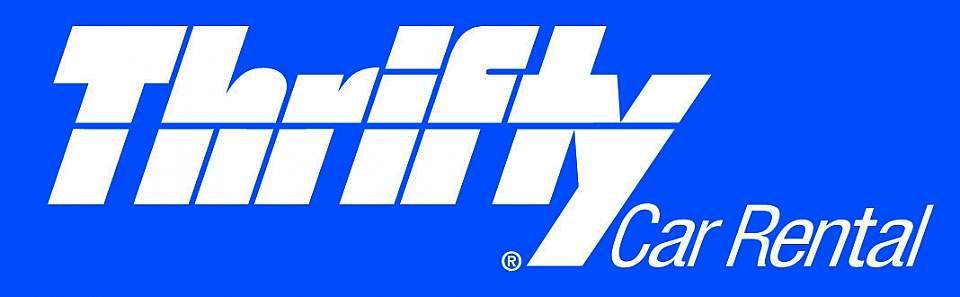 Thrifty Logo CMYK Blue White