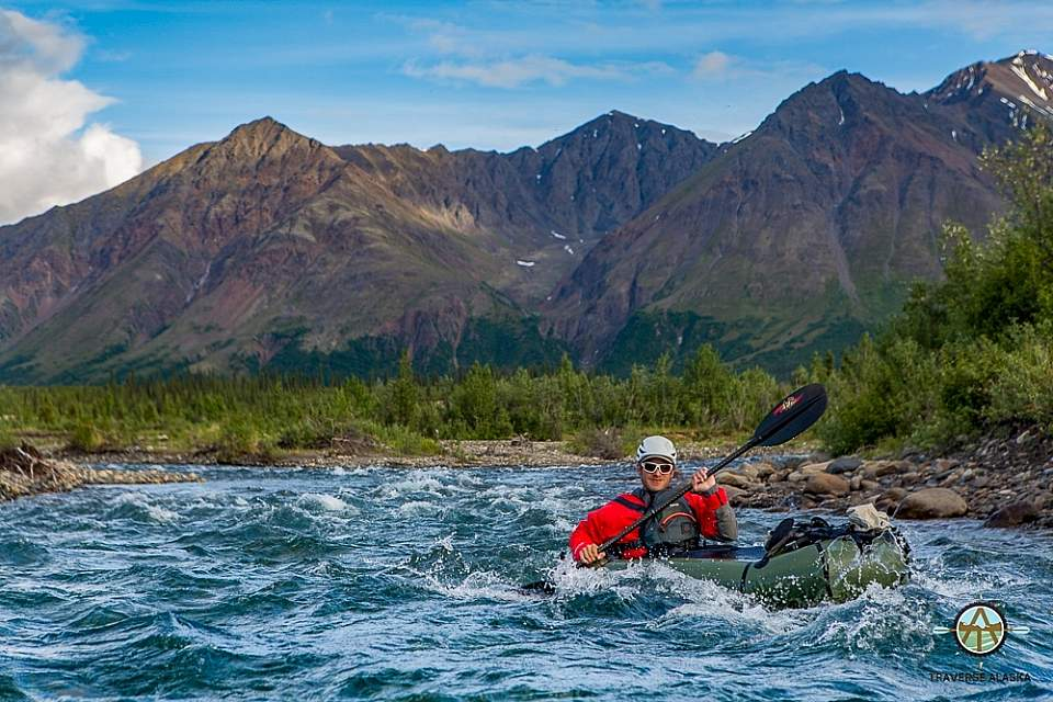 Traverse Alaska water-based activities place you on pristine and scenic rivers in the Denali area