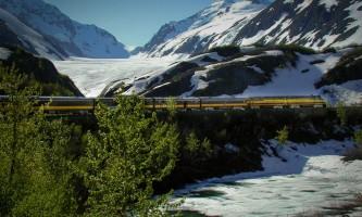 Alaska railroad depot anchorage ARR 010 Alaska Channel Alaska Railroad