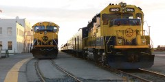Alaska Railroad Depot Anchorage