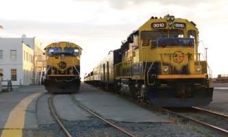 Alaska railroad depot anchorage Back in Anchorage S Gr91h Zpns Dord B Bt4 X1ddo cmyk l Alaska Railroad Corporation 2013 cleanpix