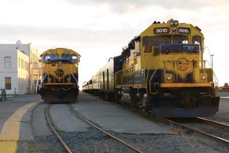 Alaska Railroad Depot Anchorage