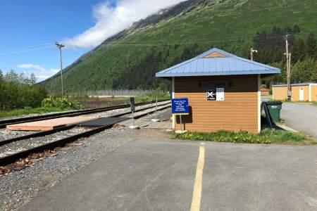Alaska Railroad Depot Girdwood