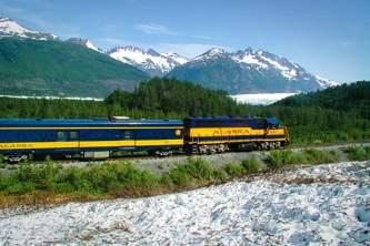 Alaska Railroad AKRR Spencer Glacier2019