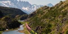 White Pass Yukon Route Railroad Hiker Transport