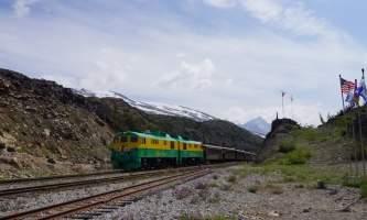 Alaska alaska white pass yukon route railroad hiker transport skagway DSC06533 White Pass Yukon Route Rail