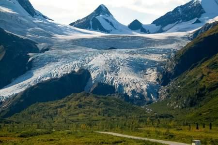 Alaska trip ideas valdez Worthington Glacier Alaska Channel Premier Motorcoach