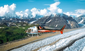 Denali national park trip ideas Era DPL Helicopter Flightseeing