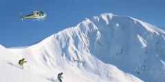 Girdwood trip ideas Hotel Alyeska heli skiers Alaska Channel