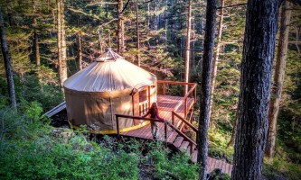 Alaska trip ideas seward char yurt 2 shearwater cove
